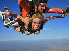 It\\\\\\\'s Scott\\\\\\\'s birthday, so Kagney and Krissy got him a two part present. Part one is taking him sky diving. The second part is a secret. I bet you can\\\\\\\'t guess what it is.video